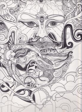 fineliner on paper
