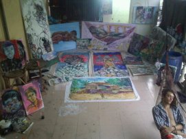 Studio in Phnom Penh